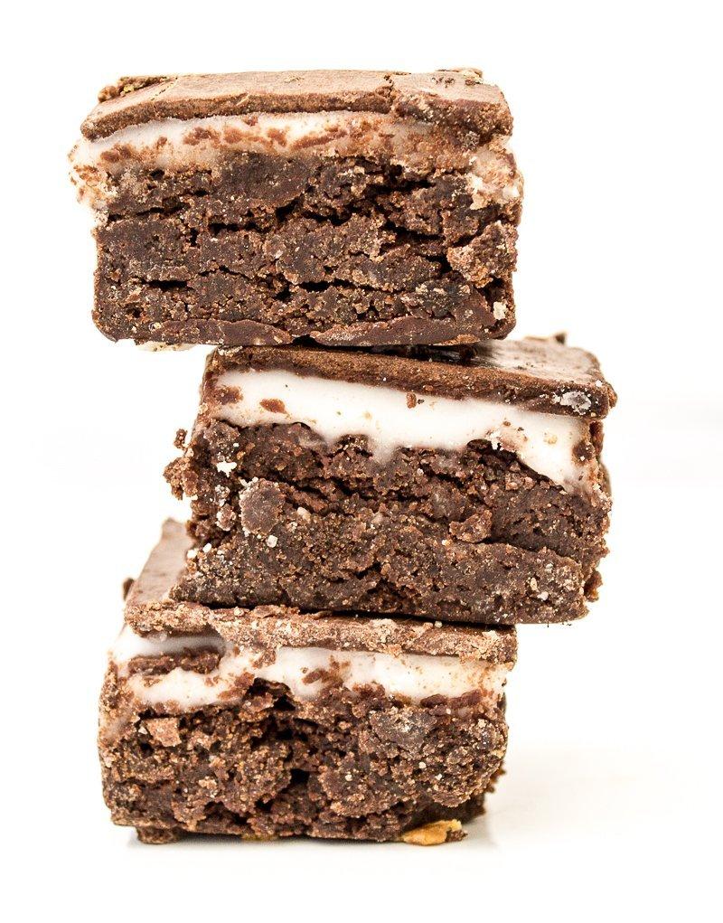 After 8 vegan brownie bites