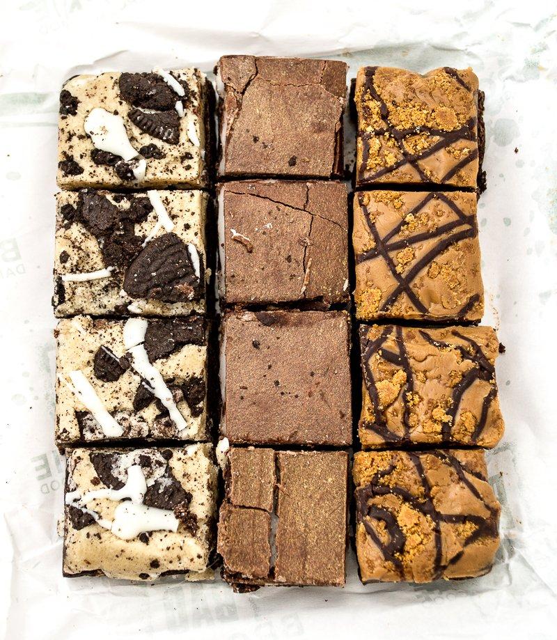 Bad Brownies vegan brownie bites