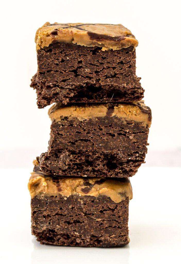 Biscoff brownie bites